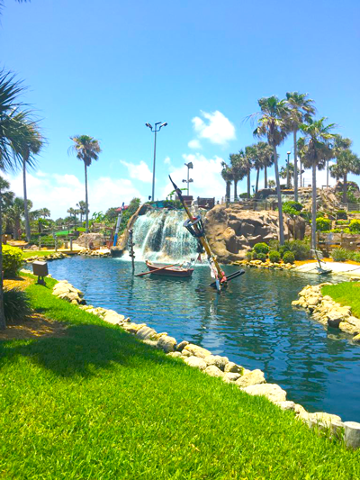 Pirate's Cove Lagoon and Waterfall