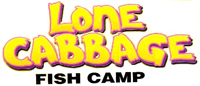 Lone Cabbage Fish Camp Logo