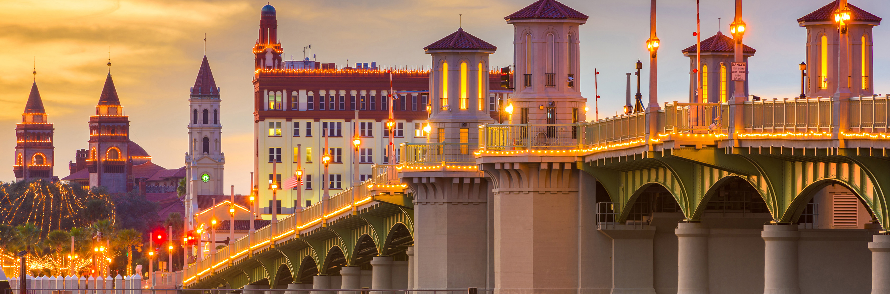 ST AUGUSTINE BRIDGE OF LIONS