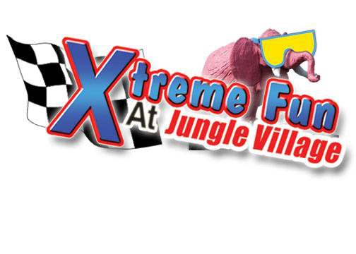 Xtreme Fun at Jungle Village Logo